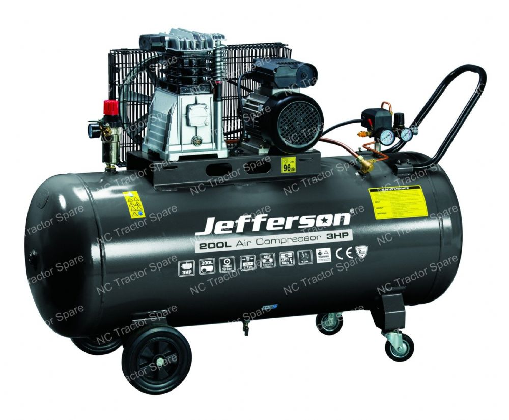200 Litre 3HP Compressor